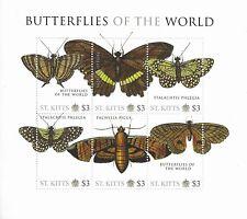 SIERRA LEONE Butterflies of the World Mini Sheet MINT NH