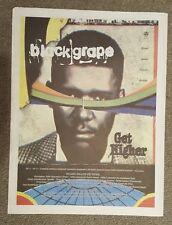 Black Grape Get Higher  1997 press advert Full page 30 x 40 cm mini poster