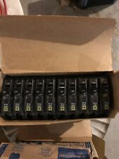 Box Of Square D Qob120Vh Bolt-On 1 Pole 20 Amp 120/240V Circuit Breakers.