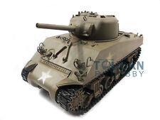 100% Metal Mato 1/16 M4A3 Sherman RC Tank RTR Infrared Recoil Army Green 1230