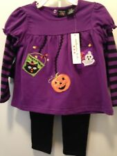 Halloween Theme Tunic & Leggings by Authentic Kids NWT 24 Mo