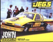 2000 John Coughlin Jeg's Chevy S-10 Pro Stock Truck NHRA postcard