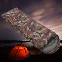 Outdoor Waterproof Ultralight Sleeping Bag Adults Camping Hiking Warm Envelope