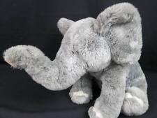 Animal Alley Gray Baby Elephant Adorable Face Plush Stuffed Pachyderm Huggable