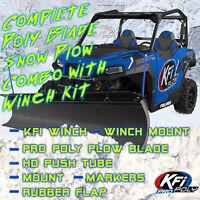 100560 KFI Winch Mount Polaris Ranger Full-Size 425-700
