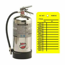 Buckeye Wet Chemical Class K Fire Extinguisher Withwall Hook Sign Inspection Tag
