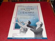 [COLL.J.LE BOURHIS DANSE BALLET] AFFICHE FILM Signée! YVETTE CHAUVIRE 1988