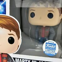 Back to the Future - Marty McFly in Jacket #1025 (Funko Shop) Funko Pop! Vinyl