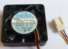 NMB DC Cooling Fan 12V 0.1A 40 x 40 x 10mm 1604KL-04W-B59 NEW