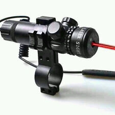 Chasse Optique Red Dot Sight Laser Réglez Fusil Scope 2 rail de détecteur Monts