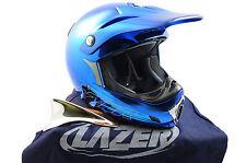 LAZER MX6 XPRO FULL FACE BIKE HELMET DOWNHILL,JUMP,BMX LARGE 50% OFF RRP BLUE