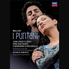Florez/Machaidze/D 'ARCANGELO/Mariotti-Bellini: i PURITANI BLU-RAY NUOVO