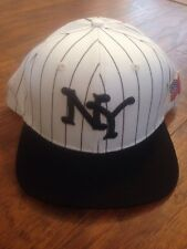 10 DEEP HOMETOWN NY FDNY BURN UNIT PINSTRIPE SNAPBACK IN WHITE!!