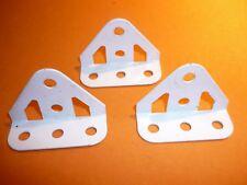 Meccano dished triangular plate 3x3x3 part B484 ivory