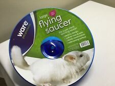 "12"" Flying Saucer Exercise Wheel For Small Pets Exercising Toy For Hamster Run"