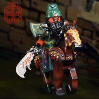 ⎡LEYILE BRICK⎦ Pre-order Custom Guan Yu & Horse Lego Minifigure,**LAB9MINIFIGS*