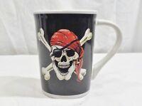 Goth Pirate Skull Cross Bones Cup Mug 10 Ounces