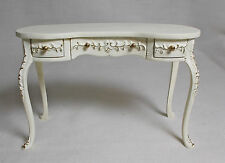 Dolls House Miniatures Handpainted JiaYi Kidney Desk / Side / Dressing Table