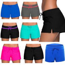 c04553c057 Women Shorts Plain Bikini Swim Pants Swimwear Style Briefs Bottoms  Beachwear NEW