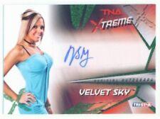 """VELVET SKY """"AUTOGRAPH CARD /25"""" KNOCKOUT TNA XTREME"""