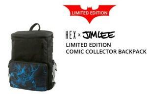 Hex x Jim Lee Batman DC Comics Limited Edition Comic Collector Backpack New Bag