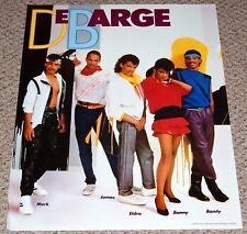 DeBARGE Eldra Bunny Mark James Randy Sexy Band Pose Poster 1984 R&B