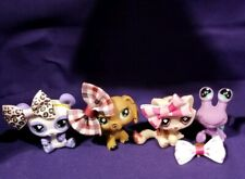 Authentic Littlest Pet Shop #No's Monopoly Dachshund Cat Panda Hermit Crab spots