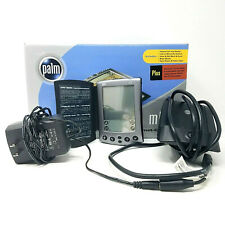 Palm Pilot M500 Handheld PDA w/ Original Box Charger Adapter Case FOR PARTS ONLY