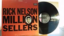 Rick Nelson Million Sellers Imperial LP 12232 ultra rare stereo 1A,1C 1st press
