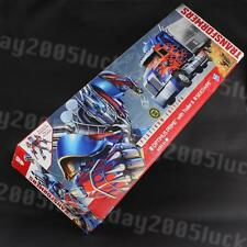 Transformers AOE 4 Platinum Edition OPTIMUS PRIME w/ Trailer & Sideswipe Figure