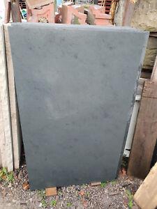 Natural Black / Blue Slate Log Burner / Fireplace Hearth 1500mm x 900mm x 30mm