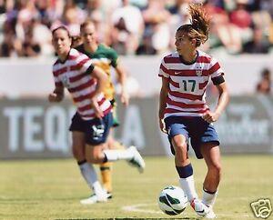 TOBIN HEATH USA WOMEN'S SOCCER 8X10 SPORTS PHOTO (PEG)