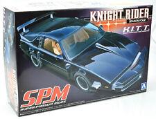 Aoshima Knight Rider Season 4 K.I.T.T. SPM Car 1/24 Plastic Model Car Kit 04355