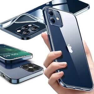 Handy Hülle iPhone 12 / Pro / Mini / Pro Max Cover Transparent Klar Durchsichtig