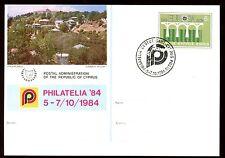 Cyprus 1984 Philarelia Card #C10383