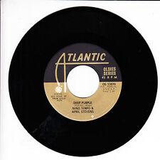 NINO TEMPO & APRIL STEVENS Deep Purple VG+ 45 RPM REISSUE