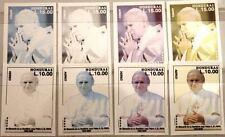 HONDURAS 2005 1772-73 C1188-9 Papst Pope John Paul II PROOFS PROBEN Religion MNH