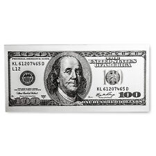 5 gram Silver Note - $100 Bill (Benjamin Franklin Design, .999) - SKU 104034
