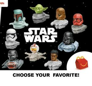 McDonald's 2021 STAR WARS Character Disc Launcher Toys-Pick Your Favorite!