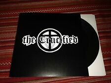 "The Crucified Nailed 7"" BROWN VINYL Record! old school punk! non lp songs! NEW!!"