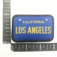 License Plate Themed LOS ANGELES California Patch C09U