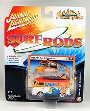 "Johnny Lightning Surf Rods 1964 VW Type 2 Transporter ""Pipelines & Tanlines"""