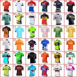 New Mens Cycling Jersey 2021 Summer short sleeve Tops Bike Shirt bicycle Uniform