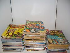 Huge 25 Comic Book Lot 1970s & Up Marvel, DC, Indy Mixed