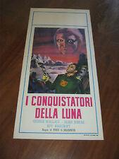 LOCANDINA,Conquistatori della Luna,Radar Men from The Moon,Brannon.Wallace,1962