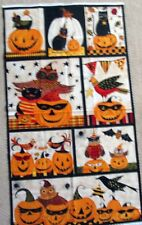 "1 Scary ""To Cute To Speak"" Cotton Quilting Crafting Sewing Fabric Panel"