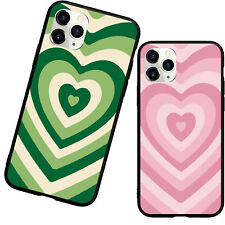 Matcha Latte LOVE Coffee Green Pink Phone Case For iphone 11 12 Pro Max XR 6 7 8