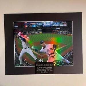 "Derek Jeter New York Yankees MLB Holographic Engraved 11""x14"" Matted Frame"
