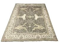 12X15 Oushak Area Rug Hand-Knotted Wool Oriental Carpet (12 x 14.8)