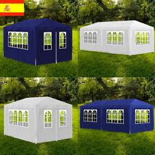 3x4m/3x6m Partido Marquesinas y carpas de terraza y jardín Con 4 paredes 2 Color